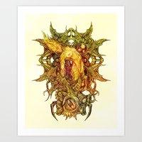 Botanical Lust - 1 Art Print