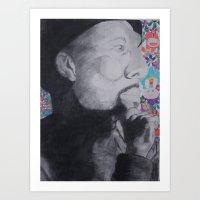 Common Murakami Art Print