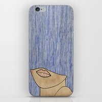 Rain Girl iPhone & iPod Skin