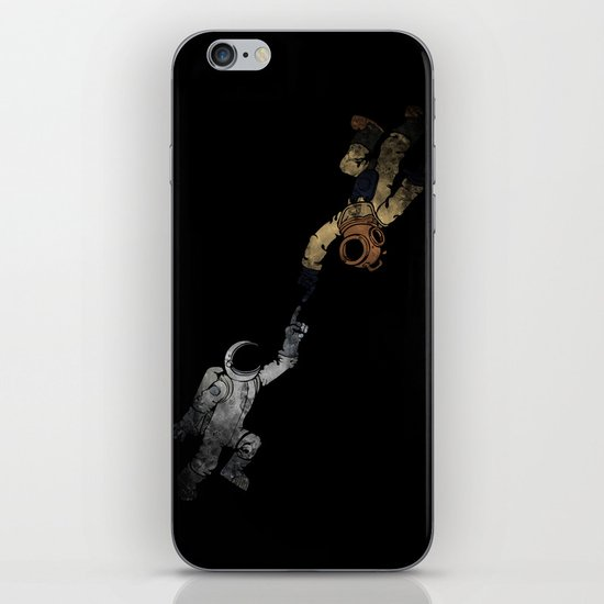 In to the Deep iPhone & iPod Skin