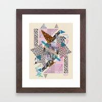 (DREAMER) Take A Look  Framed Art Print