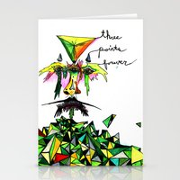 Three Points Forever Stationery Cards