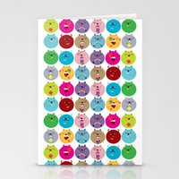 Cute Bunnyballs Stationery Cards