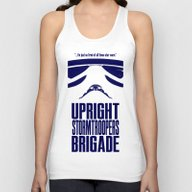 UPRIGHT STORMTROOPERS BR… Unisex Tank Top