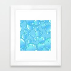 soap bubbles Framed Art Print