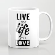 Live Life Love Mug