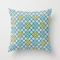 Bog Star Throw Pillow
