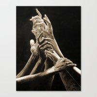 Quest for Light #2 Canvas Print