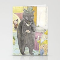 Animal Party Stationery Cards