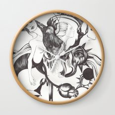 Retrato de Sirena Wall Clock