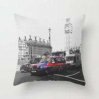 Travelling The British W… Throw Pillow