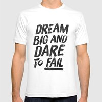 II. Dream big Mens Fitted Tee White SMALL