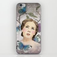 Butterfly Dreams iPhone & iPod Skin