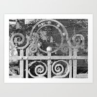 The MAGIC Gate - Another… Art Print