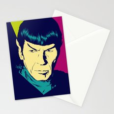 Spock Logic Stationery Cards