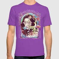 Psychedelia Mens Fitted Tee Ultraviolet SMALL