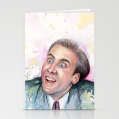 Nicolas Cage You Don't Say Stationery Cards
