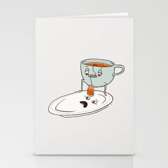 Tea Baggin' Stationery Card