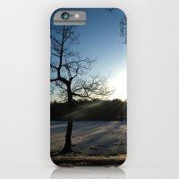 Snowy Sunset iPhone 6 Slim Case