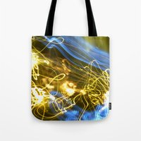Explosion Of Colors Tote Bag