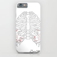 Human ribs cage iPhone 6 Slim Case