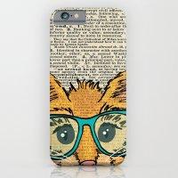 Orange Kitty Cat iPhone 6 Slim Case