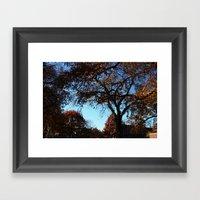 Fallday Framed Art Print