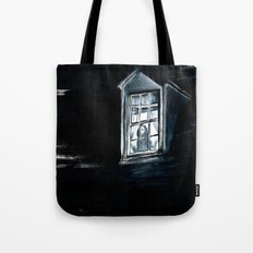 She Lived Here Once Tote Bag