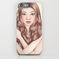 iPhone & iPod Case featuring Green by Jessica April