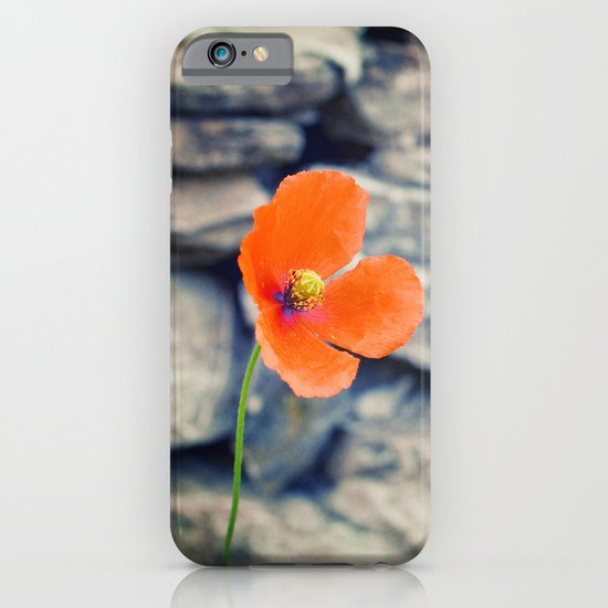 Alone against the wind iPhone & iPod Case