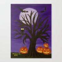 Halloween-2 Canvas Print