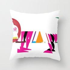 David Nuh Omar's Lion (LION) Throw Pillow