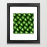 Framed Art Print featuring Geometrix LXXXVI by Harvey Warwick