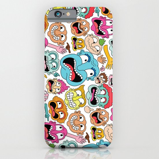 Weird Faces iPhone & iPod Case