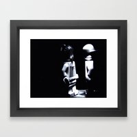 Lady Of The Night  Framed Art Print