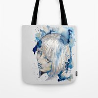 Nieves watercolor portrait by carographic Tote Bag