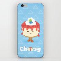 Cheese Cake iPhone & iPod Skin