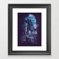 R2D2 Framed Art Print
