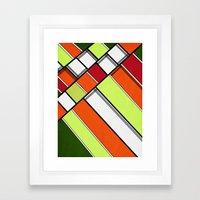 Lined II Framed Art Print
