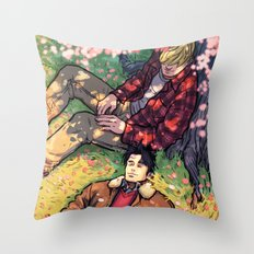 William and Theodore 20 Throw Pillow