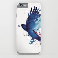 iPhone & iPod Case featuring Bloody Crow by Robert Farkas