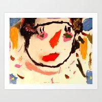 Carly Art Print