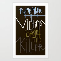 Sometimes History Should... Art Print