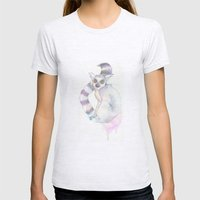 Amour Lemur Womens Fitted Tee Ash Grey SMALL