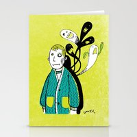 Everybody Has A Ghost Or… Stationery Cards