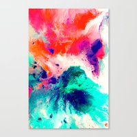 Plunge Canvas Print