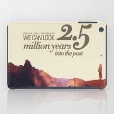 LOOK INTO THE PAST - Andromeda   Space   Time   Stars   Science   Planets   Million   Years   Travel iPad Case
