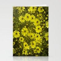 Blackhole Daisies  Stationery Cards
