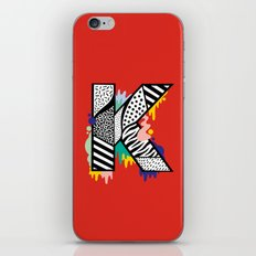 K for ... iPhone & iPod Skin