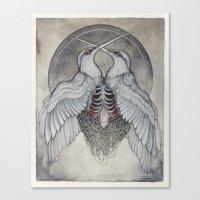 Coalesce Art Print  Canvas Print